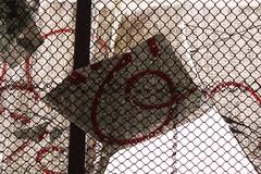 shattered graffiti
