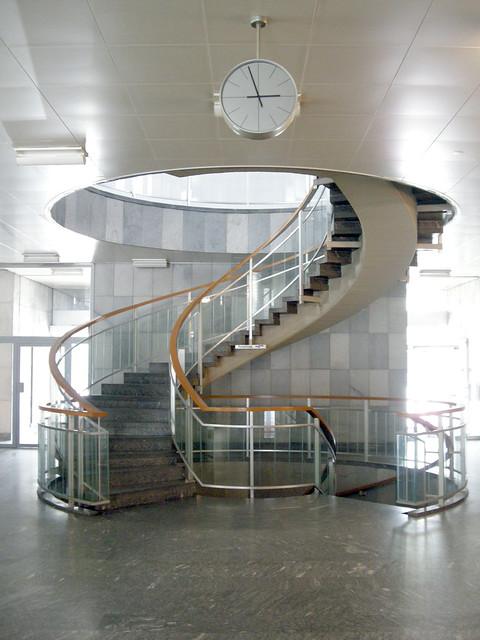 swiss 60s staircase, Nikon COOLPIX S700