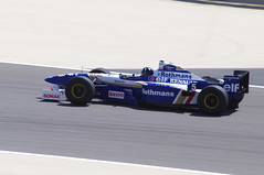 Damon Hill in a Vintage Williams