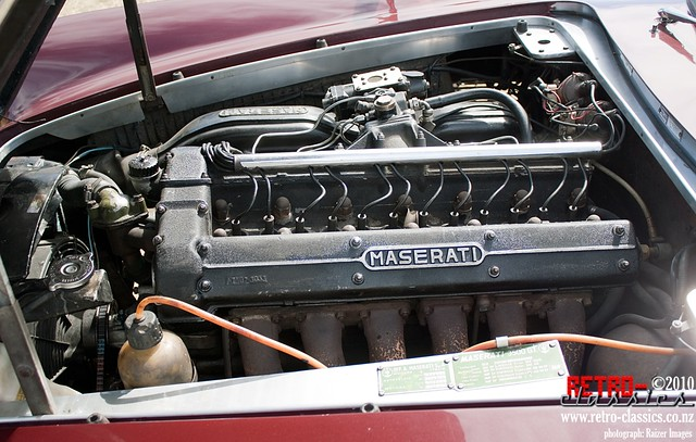 1963 Maserati 3500 GT-I engine-1024 | Flickr - Photo Sharing!