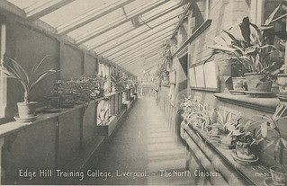 Edge Hill Training College, Liverpool - The North Cloister