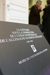 Exposition La Lettonie revient en Europe
