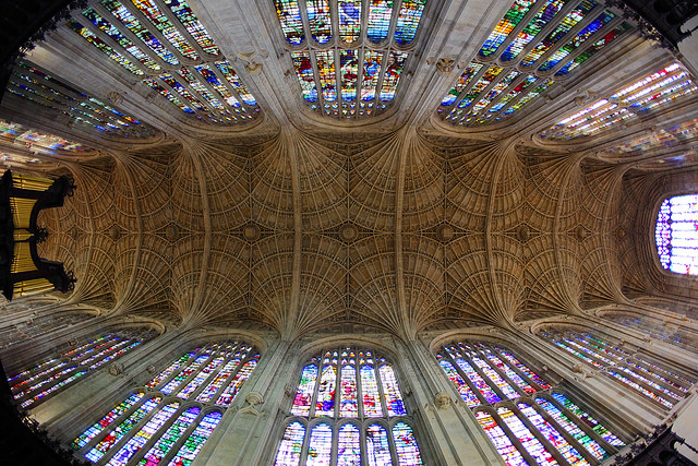 King's College Chapel Ceiling