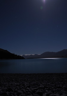 Lake Tekapo at night