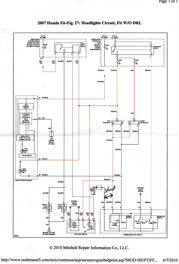 Wiring Diagram Honda Jazz Idsi : Honda jazz wiring diagram free diagrams