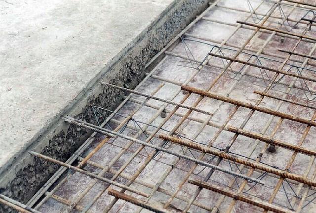 insitu reinforcement concrete Concrete slabs concrete slabs.