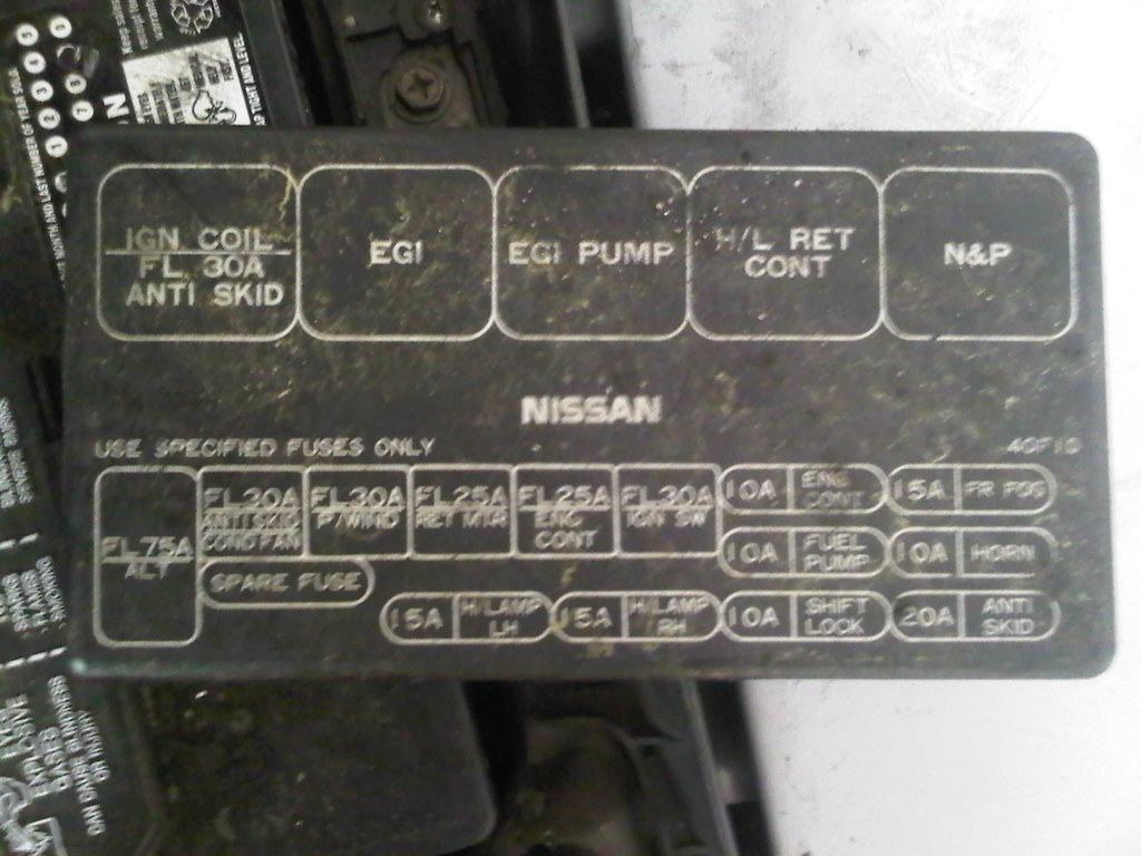 240sx Fuse Diagram Another Blog About Wiring Wire On A 97 Nissan 240 Box Cover Free Engine Image For 91