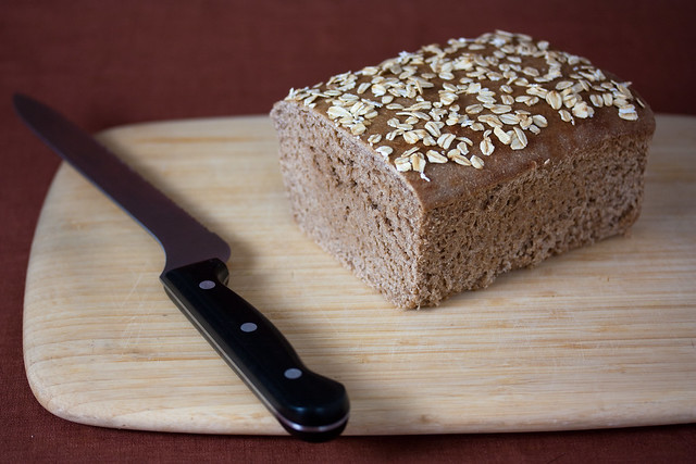 Vegan Wild Yeasted Wheat Bread