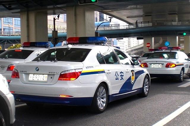 Shanghai Car Police Car in Shanghai 165