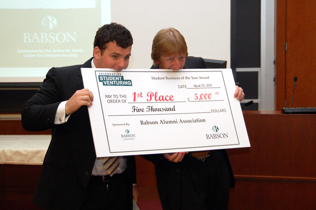 Babson college business plan competition