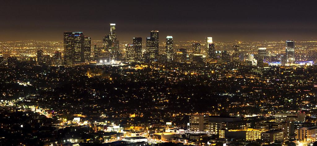 los angeles skyline view - photo #5