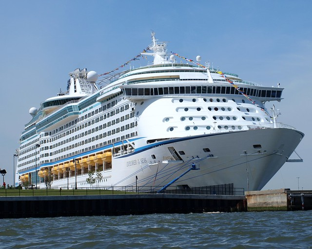 EXPLORER OF THE SEAS Cruise Ship Cape Liberty Cruise Port Bayonne NJ | Flickr - Photo Sharing!