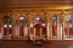 Room inside palace complex at Mehrangarh