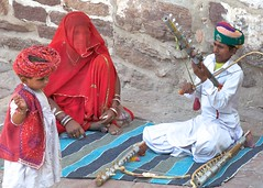 Music playing inside Mehrangarh