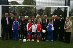 Opening of 7-a-Side Pitches in Sallynoggin
