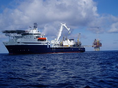 vehicle, ship, sea, ocean, offshore drilling, watercraft,