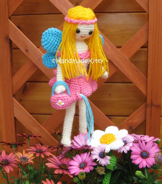 Amigurumi Fairy Free Pattern : FAIRY CROCHET PATTERN - Crochet and Knitting Patterns