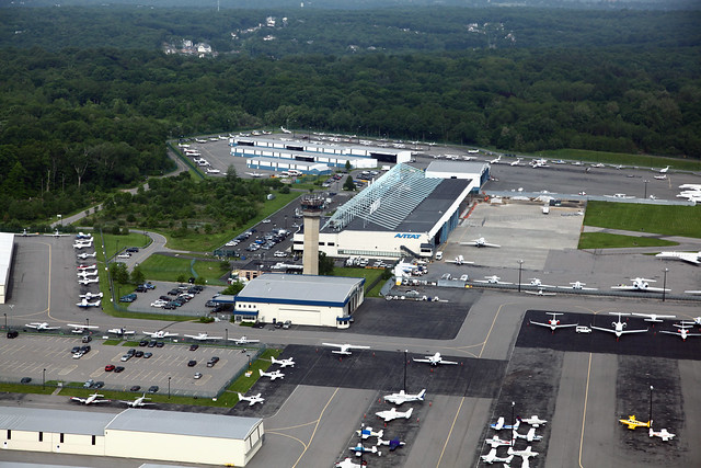 Westchester Airport Private Jets And Tower  Flickr  Photo Sharing