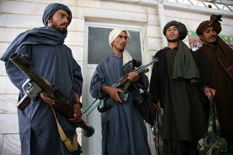 Insurgents Lay Down Weapons