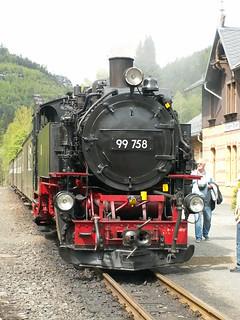 dampfbetriebene Schmalspurbahn mit 750mm Spurweite zwischen Zittau und den Kurorten Oybin und Jonsdorf