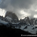 Clouds Moving in Over Fitz Roy Peak - El Chalten, Argentina