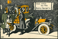 Seattle Taxicab Company Advertisement
