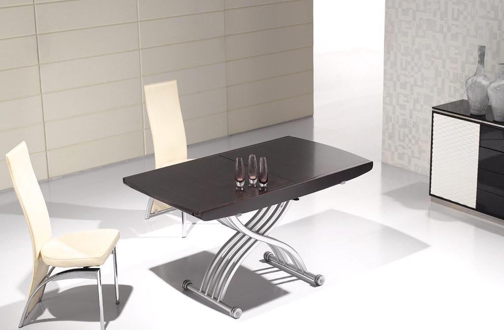 table basse relevable transformable lea wenge neuf ebay. Black Bedroom Furniture Sets. Home Design Ideas