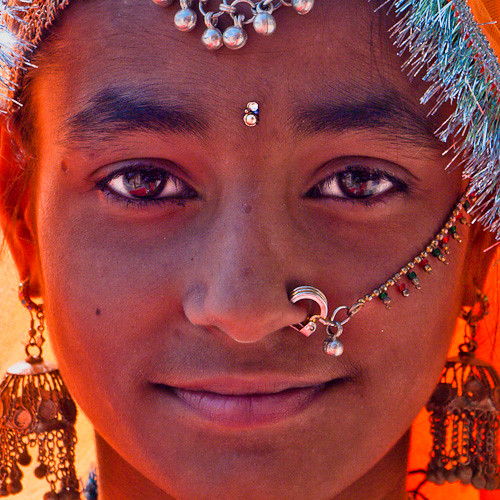 'india portrait' by http://heatherbuckley.co.uk