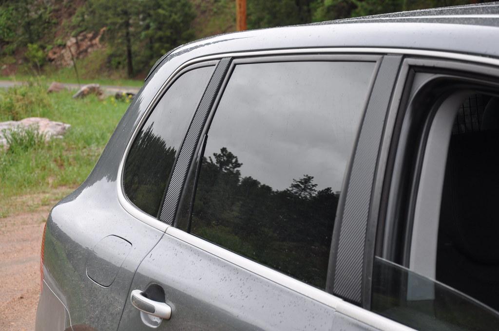 Carbon Fiber Vinyl Door Pillar Trim 6speedonline Porsche Forum And Luxury Car Resource
