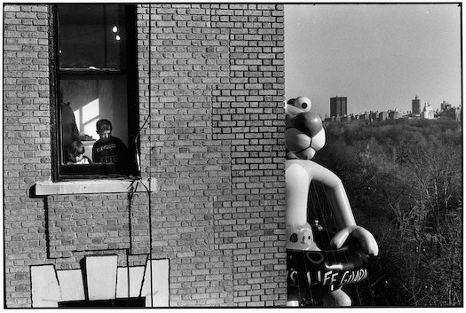 Macy's Day Parade, by Elliott Erwitt 1988