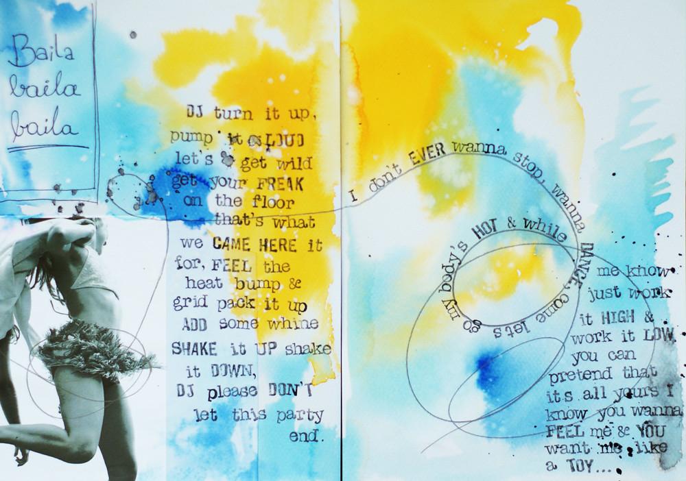 art-journal :: baila, baila