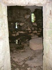 ancient history(0.0), air-raid shelter(0.0), wall(1.0), crypt(1.0),