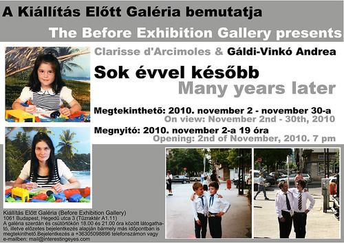 Clarisse d'Arcimoles & Gáldi-Vinkó Andrea: Sok évvel később