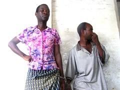 Tiwonge Chimbalanga and Steven Monjeza (r). Credit: Claire Ngozo/IPS