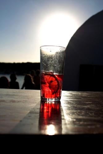Minorca, aperitivo sulla spiaggia
