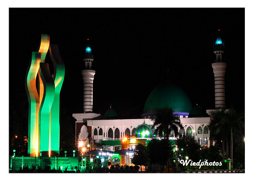 night shoot arek lancor feat Asy Syuhada Mosque