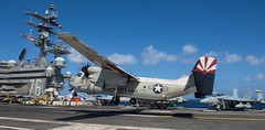 In this File photo, C-2A Greyhound lands on the flight deck of the USS Ronald Reagan (CVN 76). (U.S. Navy/MC2 Kenneth Abbate)