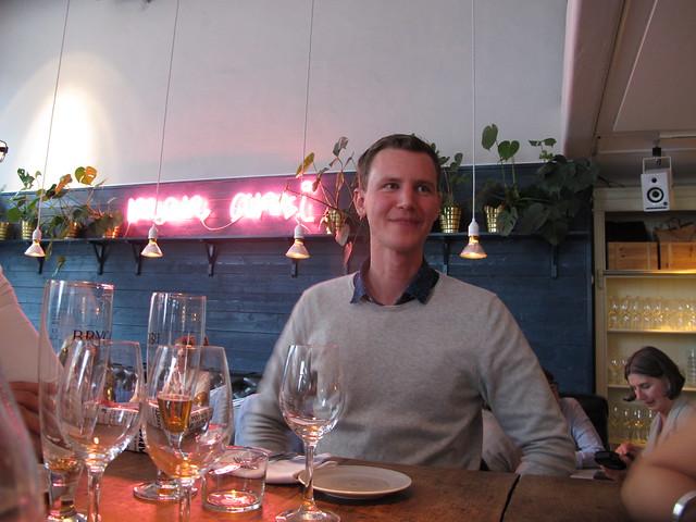 thursday, david's birthday dinner, drottninggatan 35, helsingborg