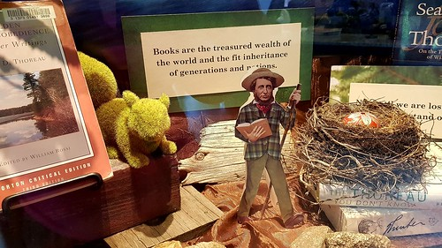 Thoreau diorama