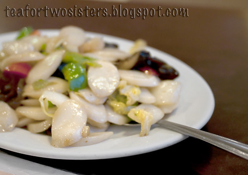 Stir Fried Rice Cakes