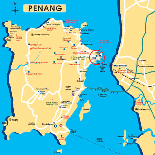 Malaysia On World Map Map: From Malaysia Tourism Leaflet