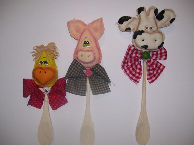 Adornos de vacas para la cocina imagui for Porta cucharas cocina