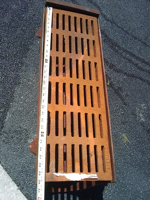 Drainage Collection Boxes : Cast iron municipal style drain box flickr photo sharing