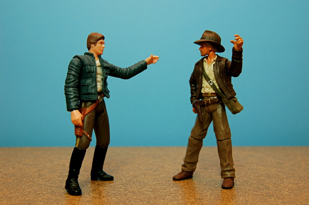 Han Solo vs. Indiana Jones (7/365)