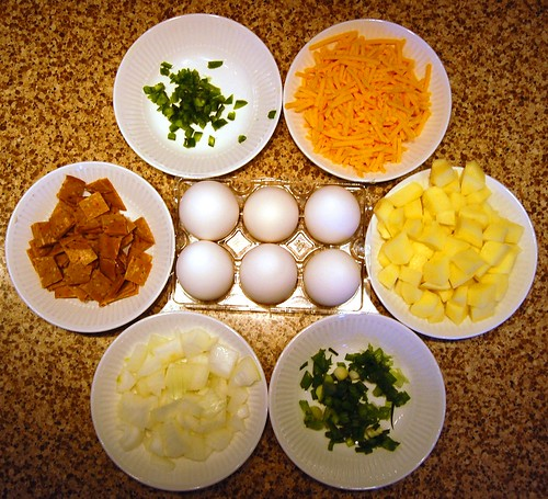 Great Plains Omelet Ingredients