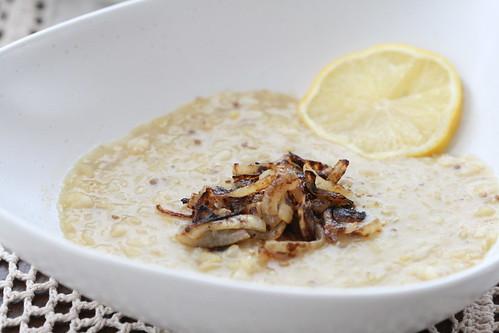 Makhlouta - Lebanese rice and lentil soup / Liibanoni läätse-riisisupp