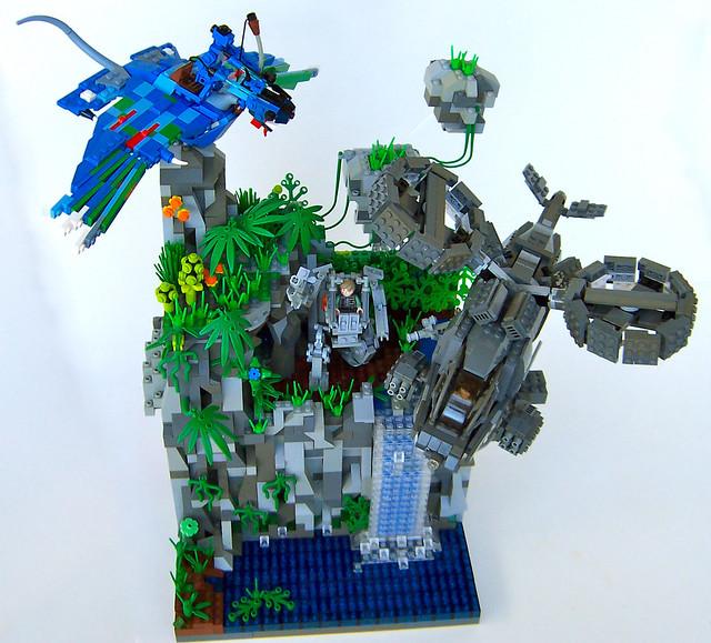 James Cameron S Avatar Logo: LEGO Avatar Creations