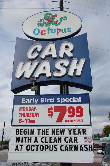 Mills Ave Octopus Car Wash