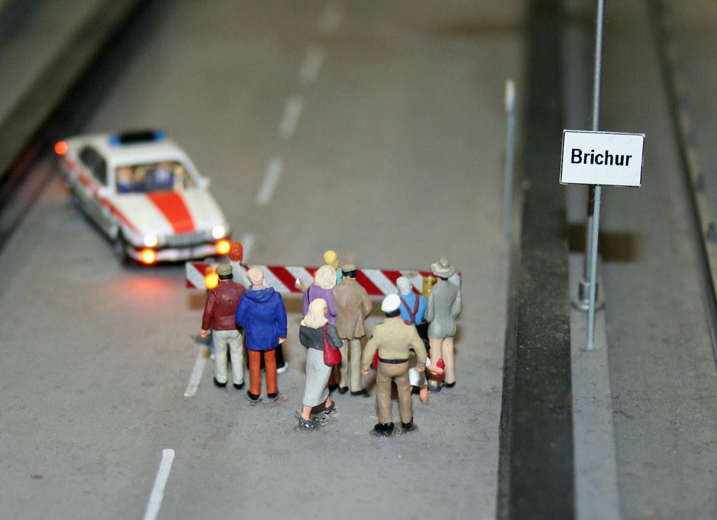 Miniature Police by Andrey Belenko, on Flickr