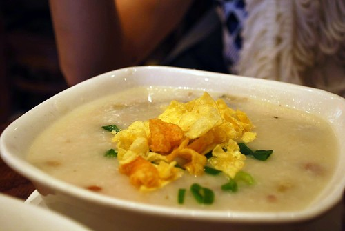 Pork and Preserved Egg Congee - China Bar AUD8.50